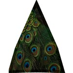 Collection: Animalia<br>Print Design: Pavone 2<br>Style Large Golf Umbrella from EricasImages 21.14 x27.63  Umbrella - 8